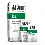 Alpol - AG S20 slow-setting putty gypsum